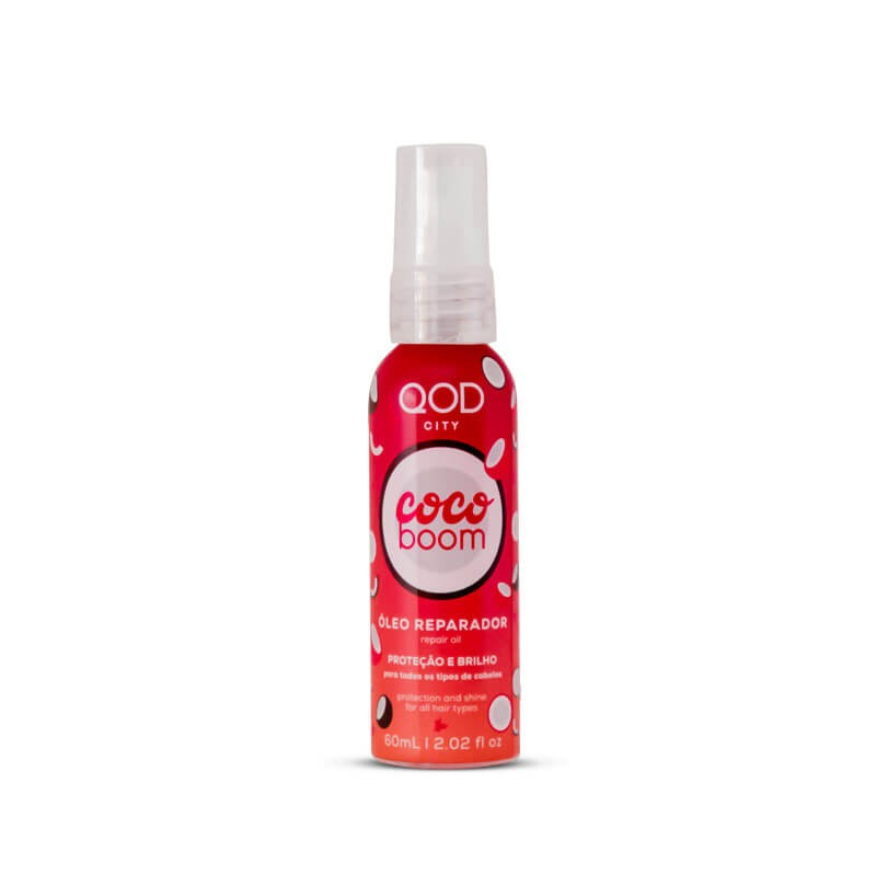 Coco Boom Oil Repair 60ml - Protection & Shine - QOD City 1