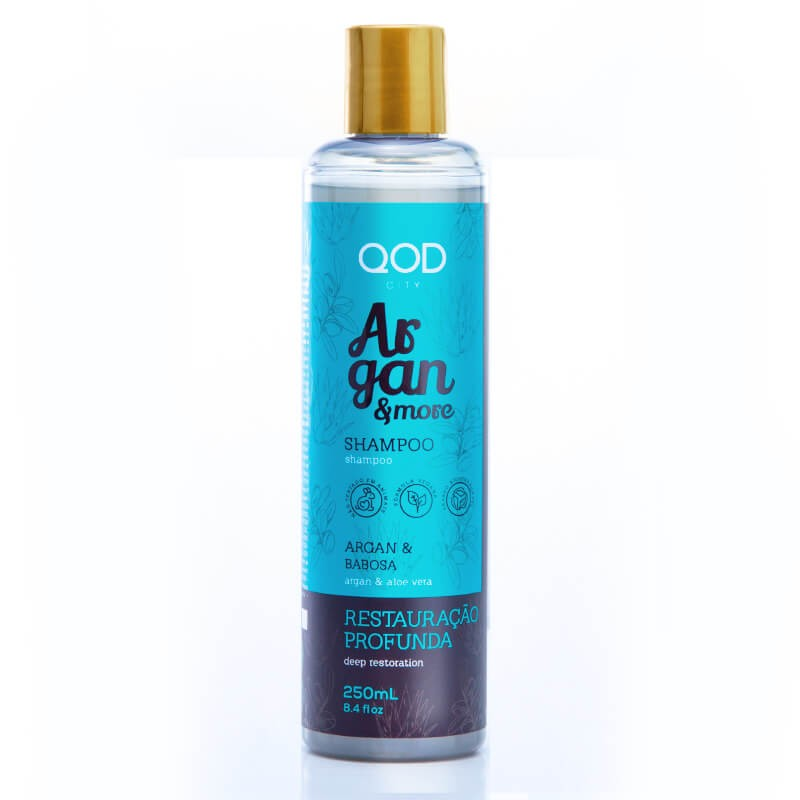 Argan & More Shampoo 250ml - QOD City