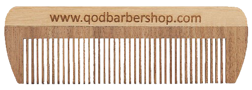 Old School Beard Comb - QOD Barber Shop