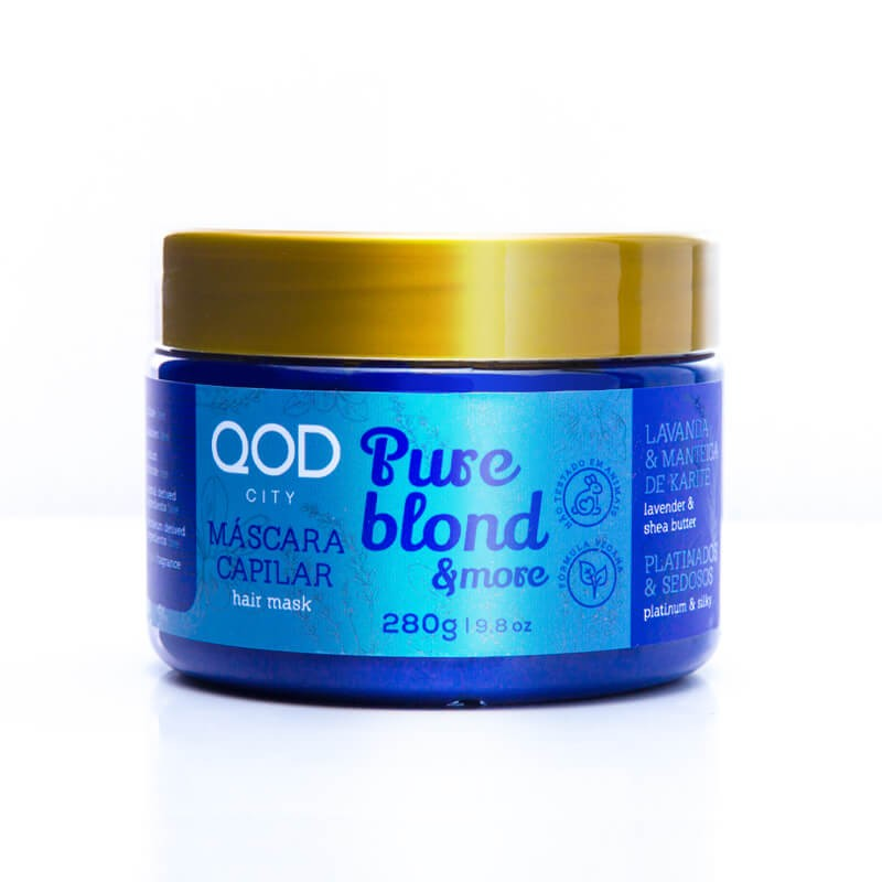 Pure Blond & More Mask 280g - QOD City