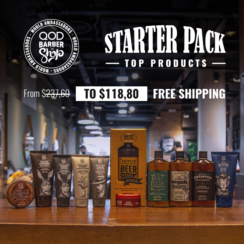 Starter Pack - Free Shipping - QOD Barber Shop