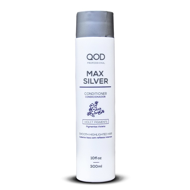 Max Silver Hair Conditioner 300ml - QOD Pro