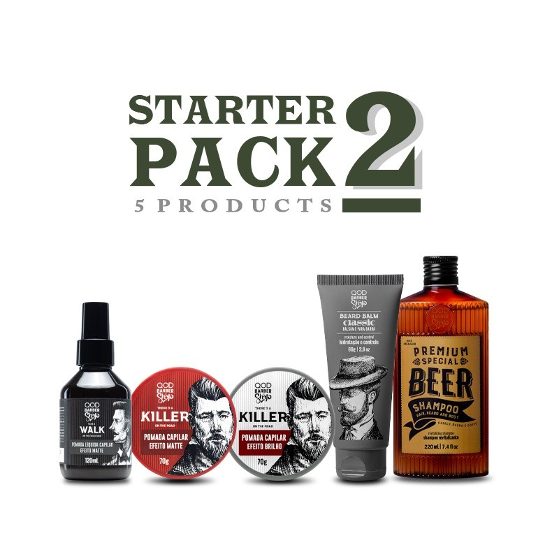 Starter Pack 2 - Free Shipping - QOD Barber Shop