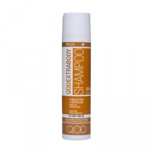 Extrabody Shampoo 300ml - For fragile and volumeless hair - QOD Pro