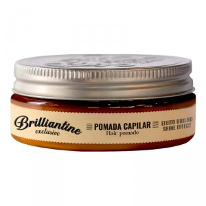 Brilliantine Hair Pomade 130g - Shine Effect - QOD Barber Shop