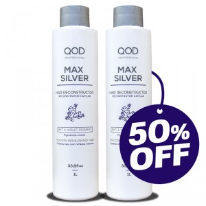 Special Offer: 2 units of Max Silver Hair Treatment 1000ml (50%off in 2nd bottle)