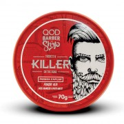 Killer Hair Pomade 70g - High Fixation - Matte Effect - QOD Barber Shop