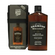 Kit Old School Whiskey Shampoo 220ml + Free Case - QOD Barber Shop