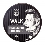 Walk Hair Pomade 70g - Medium Fixation - Matte Effect - QOD Barber Shop